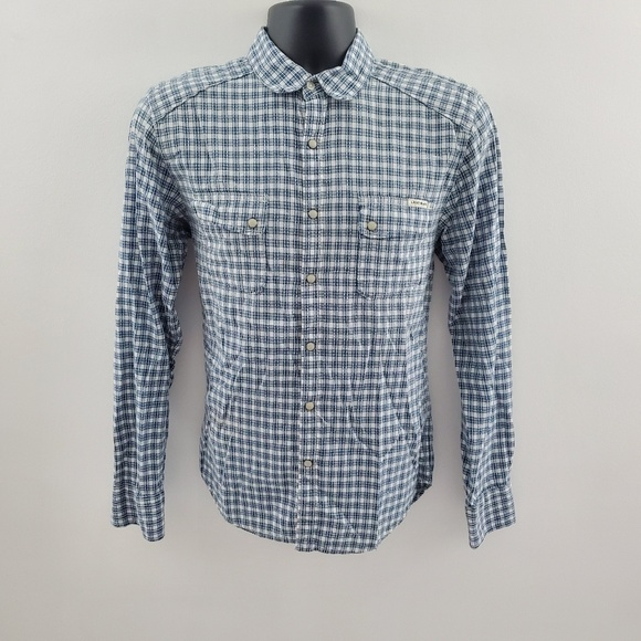 Lucky Brand Other - Lucky Brand pearl snap button down H72 S classic